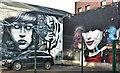 J3374 : Street art, Academy Exchange site, Belfast - September 2017(1) by Albert Bridge