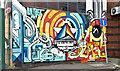 J3374 : Street art, Academy Exchange site, Belfast - September 2017(3) by Albert Bridge