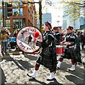 SJ8498 : Northenden Pipe Band by Gerald England