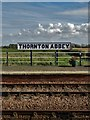TA1018 : At Thornton Abbey  railway station : Week 40