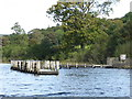 SD3195 : Landing stage for Brantwood - Coniston Water by Chris Allen