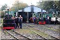 SP9224 : Leighton Buzzard Railway - Page's Park yard by Chris Allen