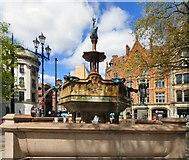 SJ8398 : Jubilee Fountain by Gerald England