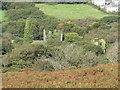 SX2771 : Salisbury Engine House and Chimney of the Marke Valley Mine by Matthew Hatton