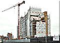 J3474 : The City Quays hotel site, Belfast - October 2017(1) by Albert Bridge
