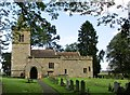 SE3968 : All  Saints  Parish  Church  and  graveyard  Kirby  on  the  Moor by Martin Dawes