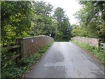 SX4563 : Railway bridge, Station Road, Bere Ferrers by David Smith