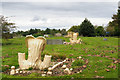 NZ1553 : Cemetery near to Dipton by Trevor Littlewood
