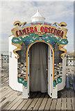 TQ8109 : Camera Obscura, Hastings Pier by Julian P Guffogg