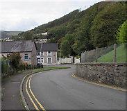 SS9993 : Down Bryn Ivor Street, Llwynypia by Jaggery