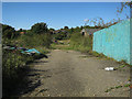 TG1101 : Vacant site by Wymondham Station by Hugh Venables