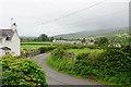SJ0336 : Lane by Rhos-uchaf by Bill Boaden