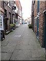 SE4282 : Baker's  Alley  looking  toward  Kirkgate by Martin Dawes
