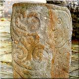 C4645 : Carndonagh Crosses - David the Harpist by David Dixon