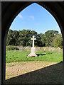 TL9695 : Stow Bedon War Memorial by Adrian S Pye