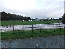 SD3778 : Cartmel Racecourse by David Brown