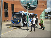 TQ2850 : Redhill Bus Station by Dr Neil Clifton