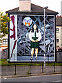 C4316 : Death Of Innocence - The Annette McGavigan Mural by David Dixon