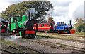 SP9224 : Leighton Buzzard Railway - Page's Park Station yard by Chris Allen