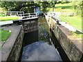 SE4067 : Milby  Lock  toward  Milby  Cut  on  Ure  Navigation by Martin Dawes