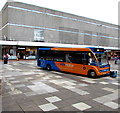 ST2995 : Infomotion bus in Gwent Square, Cwmbran by Jaggery