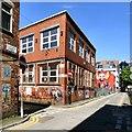 SJ8498 : Street Art on Spear Street and Warwick Street by Gerald England