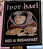 SS9993 : Ivor Hael name sign, Llwynypia by Jaggery