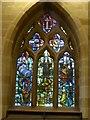 SK2176 : The Plague window, Eyam church by David Smith