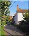 SK8481 : Marton: up Wapping Lane by John Sutton