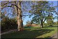 SU9382 : Burnham Park looking west towards the playground by Robert Eva
