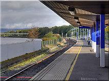 C4316 : Londonderry (Waterside) Railway Station by David Dixon
