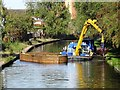 SK5419 : Maintenance on the Grand Union Canal by Ian Calderwood