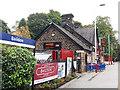 SE1639 : Baildon railway station buildings by Stephen Craven