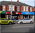 ST3289 : Former wine shop, Caerleon Road, Newport by Jaggery