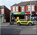 ST3289 : Subway, 161 Caerleon Road, Newport by Jaggery
