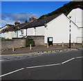 ST0291 : Telecoms cabinets, Porth Street, Porth by Jaggery