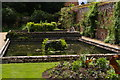 TL5238 : Water basins in the walled garden, Audley End by Christopher Hilton