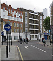 TQ3082 : King's Cross Road from Britannia Street by John Sutton