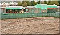 J3774 : Wilgar Park football ground, Belfast - October 2017(2) by Albert Bridge