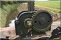 TF3998 : Sluice mechanism, Swine Dike, SE of Swine Haven/Suine Haven by Chris