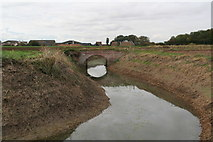 TF3999 : Bridge over Seven Towns North Eau SSE of site of Swine Haven by Chris