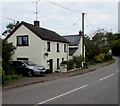 SO3617 : Old Ross Road houses, Caggle Street, Monmouthshire by Jaggery
