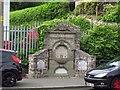SJ2741 : War memorial drinking fountain, Froncysyllte by Stephen Craven