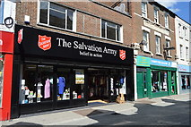 SU8693 : The Salvation Army shop, High Wycombe by N Chadwick