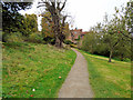 TQ4551 : Path near Chartwell entrance by Paul Gillett