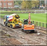 J3774 : Wilgar Park football ground, Belfast - October 2017(4) by Albert Bridge