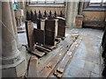 TF1337 : St Michael's Church: repairs to pews by Bob Harvey