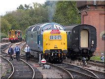 TQ4023 : Deltic gala; Bluebell Railway by Gareth James