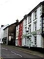 SH7401 : Grade II listed Glyndwr Hotel, Heol y Doll, Machynlleth by Jaggery