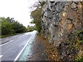 NN0461 : A tight spot on the Caledonia Way by Oliver Dixon